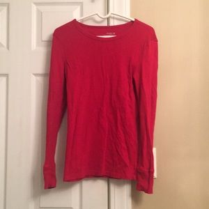 Old Navy Red Thermal